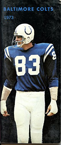 1973 Baltimore Colts Media Guide