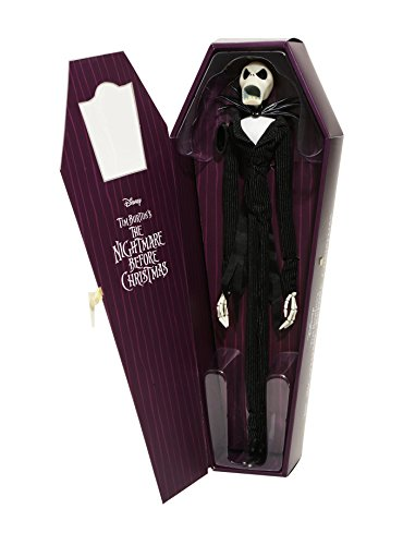 The Nightmare Before Christmas JACK SKELLINGTON 16 Inch Limited Edition Coffin Doll Hot Topic Exclusive 2017