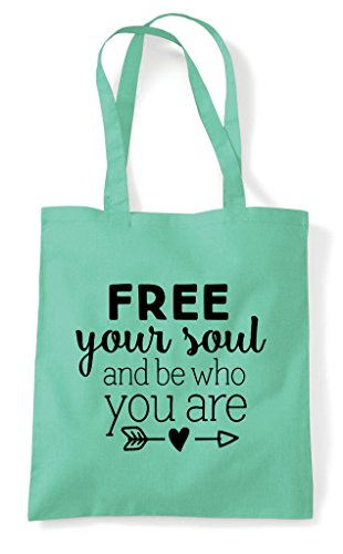 Bag Are And Free Tote Who You Mint Your Soul Be Shopper nxqxYA8waB
