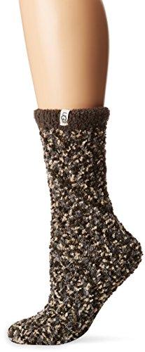 - UGG Women's Cozy Chenille Sock, Seal, O/S