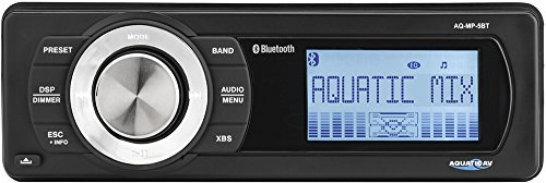 Aquatic AV Bluetooth Waterproof Marine Stereo AQ-MP-5BT by Aquatic AV (Image #4)