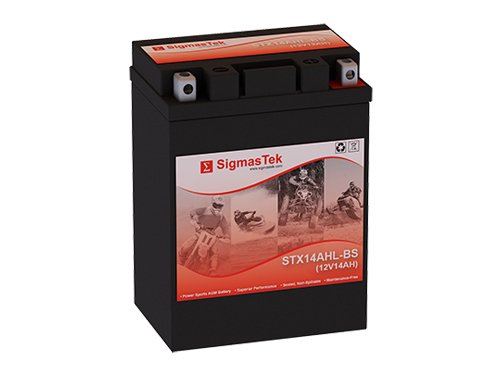 12 Volt 14 Amp Hour Sealed Lead Acid Battery Replacement with NB Terminals by SigmasTek STX14AHL-BS