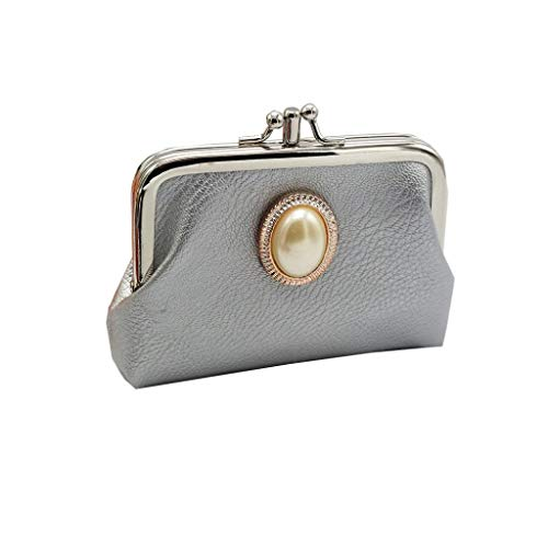 (Women's Clutches Bag,New Fashion Leather Lady Wallet Hasp Coin Purse Bag by-NEWOENSUN)