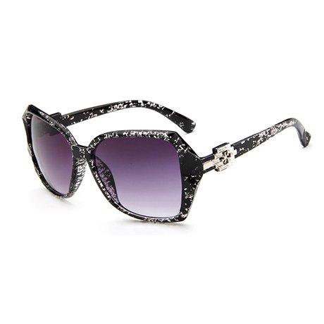tamaño de sol gran Gafas Brand Uv Negro sol Gafas de Gafas Design Mujer de prismáticas Mujer GGSSYY Fashion Mujer Gray qnAvRw46