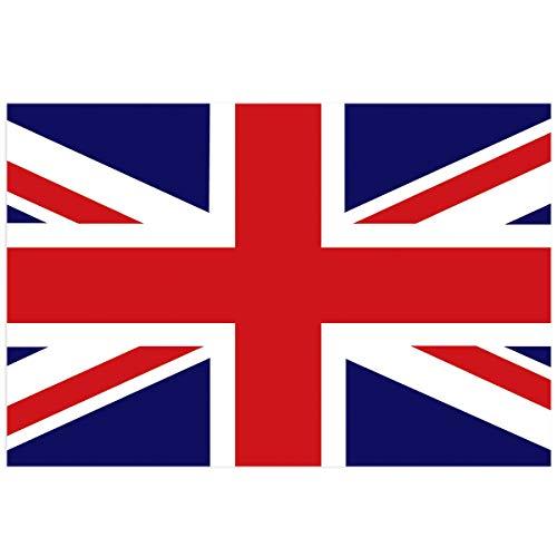YOKOU England Britain British Flag Aquarium Background Sticker Wallpaper 20.4