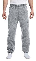Jerzees Men\'s NuBlend Fleece Relaxed Fit Sweatpants, Oxford, 3XL