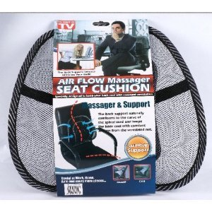 Mesh Lumbar Back Support For Office Chair Car Seat Etc