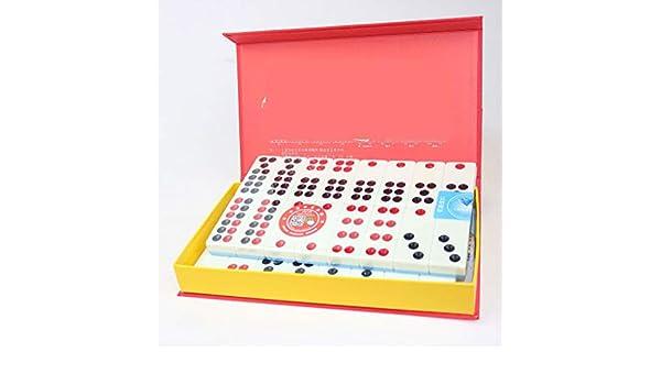 NuoEn Tarjetas de Azulejos Chinos PAI gow Juego de Juego Tradicional Chino Juegos de Ocio para la Familia 32 Azulejos Azul o Verde (Color : Azul) : Amazon.es: Juguetes y juegos