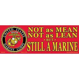 US Military Armed Forces Bumper Sticker - USMC Marines -