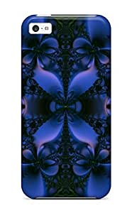 Hot DqMBUgN11965aLeAe Case Cover Protector For Iphone 5c- Fractal