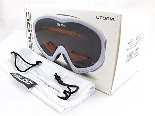 Lunettes de soleil Bloc Utopia White //. duSNifNo