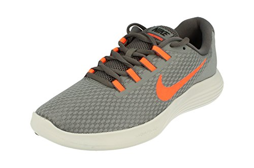 NIKE Men's Lunarconverge Running Shoe, Cool Hyper Crimson/Dark Grey, 9 D US