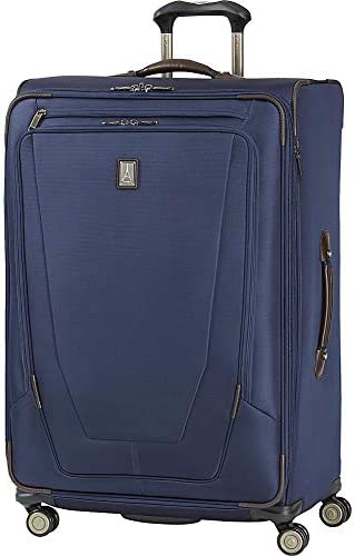 Travelpro Crew 11 29 Inch Expandable Spinner Suitcase Dark Blue