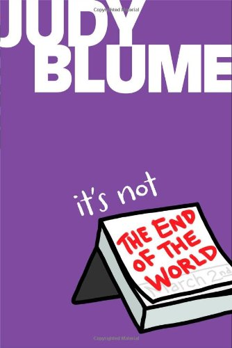 Download It's Not the End of the World pdf epub