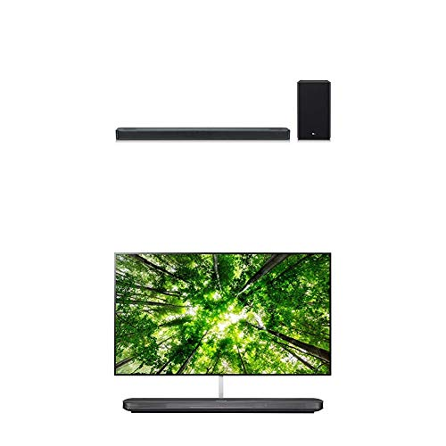 LG SL8YG 3.1.2 Channel High Res Audio Sound Bar and 77-Inch 4K Ultra HD Smart OLED TV (2018)