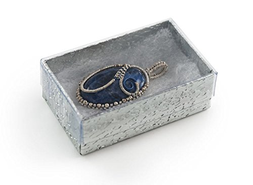 Clear Top Gift Box (View-top Cotton Filled Jewelry Box #21 (Pack of 100))