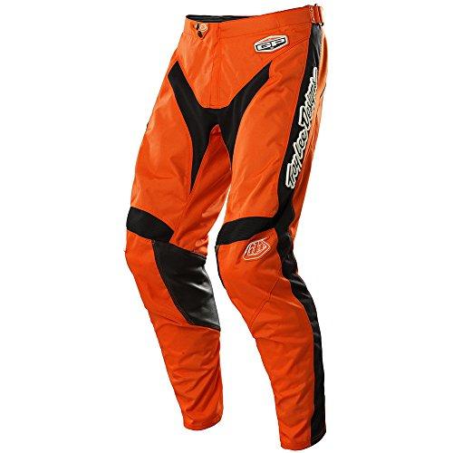 Hot Rod Gear (Troy Lee Designs GP Hot Rod Men's MX/Off-Road/Dirt Bike Motorcycle Pants - Orange / Size)
