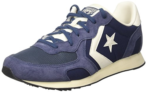 suede Adulto White Racer off navy Converse Nylon Sneaker Auckland Unisex Blu Ox 0WpIq