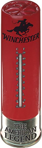 Winchester Indoor / Outdoor Shotshell Tin Thermometer