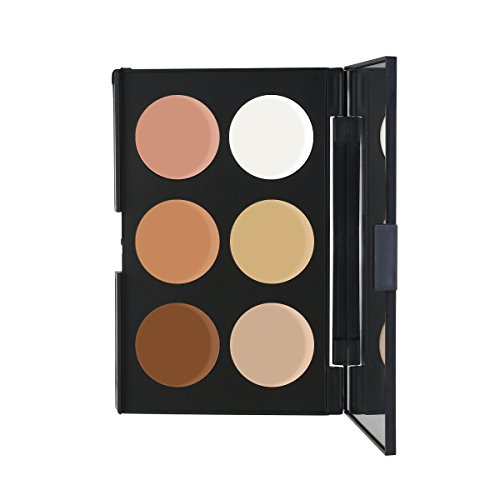 RUIMIO Contour Kit Cream Contour Palette 6 Colors with Makeup Brush Set by PIXNOR (Image #8)