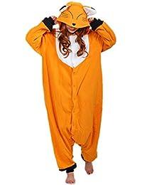 Animal Cosplay Costume Unisex Adult Fox Pajamas
