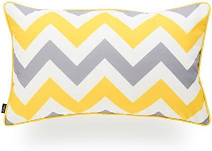 Hofdeco Indoor Outdoor Lumbar Pillow Cover ONLY