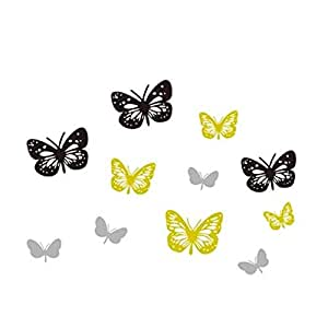 Butterfly Wall Stickers Art Decal Home DIY Decor Removable Wall Decor