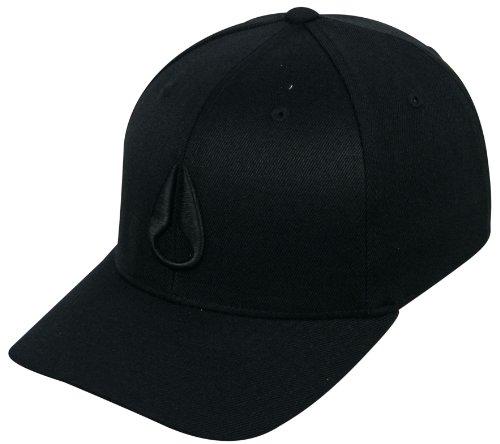 Nixon Deep Down Hat - All Black - S/M (Designer Dress Hat)