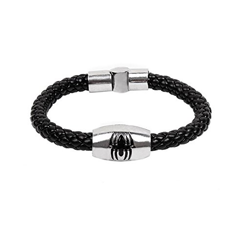 Child Tiger Lily Costume (Fariishta Jewelry Hand Braided Spider Serpentine Leather Wrap Bracelet£¨6#£)