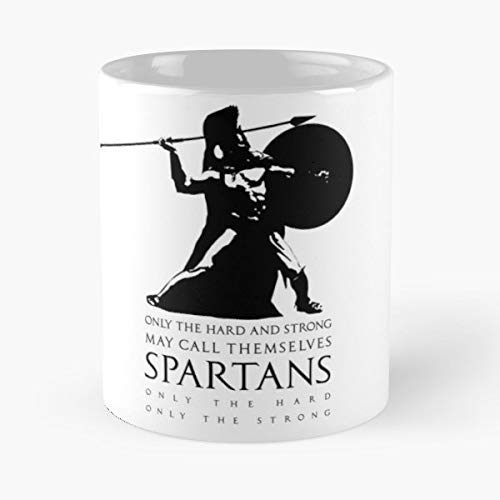 Greek Spartan Sports 300 Coffee Mugs Unique Ceramic Novelty Cup]()