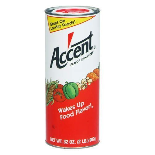 Ac'cent Flavor Enhancer - 2 lb. canister by Ac'cent [Foods] - Canister Accent