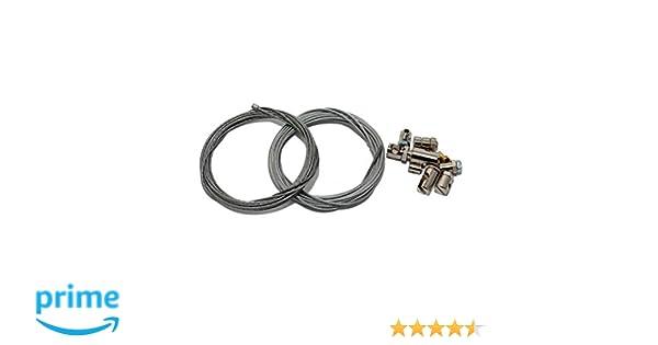 Set para reparación de Cable Bowden, Cable del Acelerador, Freno, Marchas y Embrague, Universal (2 x 2,5 m): Amazon.es: Coche y moto