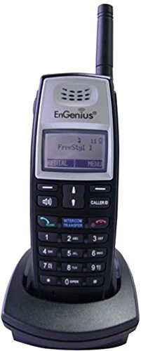 EnGenius FREESTYL 1-HC FreeStyl 1 Expansion Handset with Battery Pack, Desktop Charging Cradle and AC Adaptor For use with FreeStyl 1 Extreme Range Cordless Phone System Only (Freestyl 1 Cordless Phone)