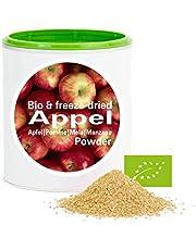 Mela in Polvere - Liofilizzata|Biologica|vegano|crudo|pura frutta|no additivo|ricco di vitamine|Good Nutritions 120g