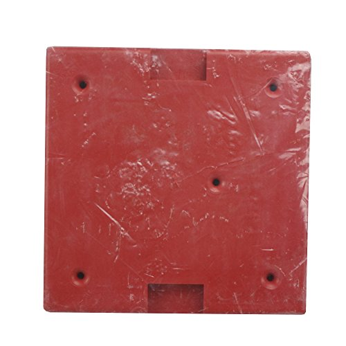 Siemens WPBBS-R 500-636137 Red Fire Alarm Weatherproof Back Box Backbox, Red (Fire Siemens Alarm)