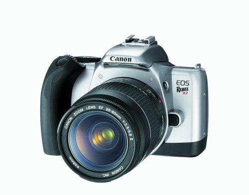 Canon EOS Rebel K2 35mm SLR Camera w/ EF 28-80 II Lens Kit