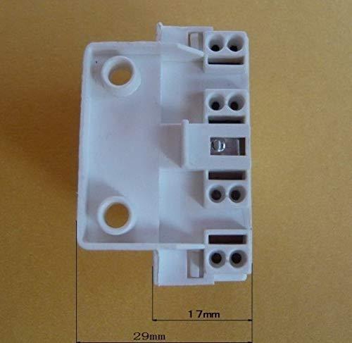Kamas 1000pcs 2G7 Lamp Bases For H Light Tube - (Color: WHITE, Base Type: 2G7)