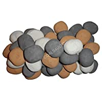 10 Gas Fire Replacement Pebbles For Coal Fire 3 Colours BY COALS 4 YOU