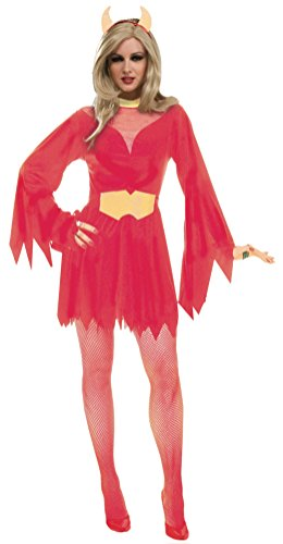 Forum Novelties Women's Devil Woman Costume, Red,