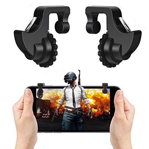 Mobile Controller,Aim Keys L1R1 and Gamepad Knives Out/Rules of Survival,Cellphone Game Trigger,Battle Royale Sensitive Shoot (Mobile Game Controller I) (The Best Phone Out)