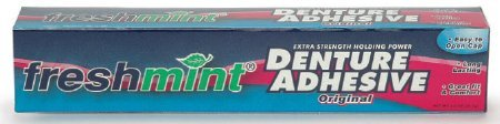 New World Imports DA2 New Freshmint Denture Adhesive, 72 Per Case by New World Imports