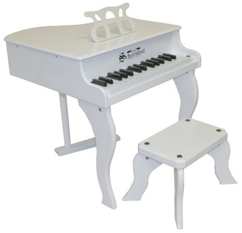 Schoenhut White 30 Key Fancy Baby Grand Piano for sale  Delivered anywhere in Canada