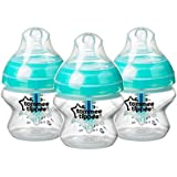 Tommee Tippee Advanced Anti-Colic Baby Bottle, 5 Ounce, 3 Count