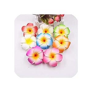 10pcs Mixed Color PE Foam Handmade Egg Flower Wedding Party Decorative Artificial Flower DIY Wreath Gift Box Clip Art Flower 72