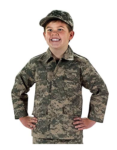 (Private Label Kids ACU Digital Pattern Jacket (S 6-8) )