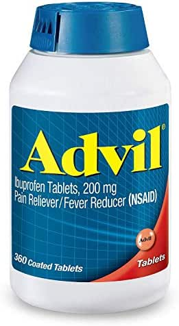 Advil Pain Reliever Fever Reducer, 200 mg Ibuprofen, 360 Count