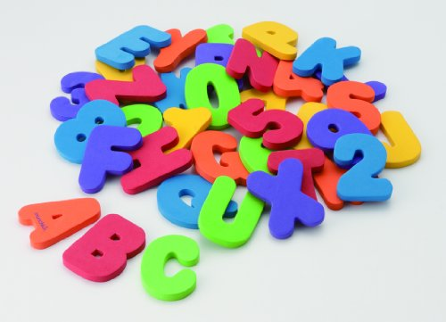 amazoncom munchkin letters and numbers bath toys 36 count bathtub toys baby