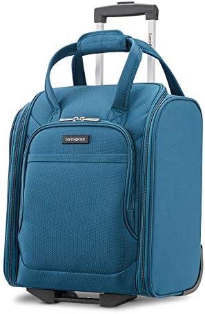 Samsonite Ascella X Softside Luggage, Teal, Underseater