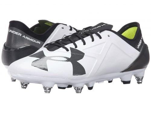Under Armour(アンダーアーマー) メンズ 男性用 シューズ 靴 スニーカー 運動靴 UA Spotlight Hybrid White/Black [並行輸入品] B07BDJHZ1Z 10.5 D Medium