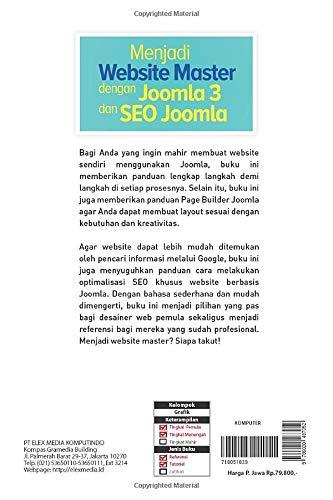 Menjadi Website Master dengan Joomla 3 dan SEO Joomla (Indonesian ...